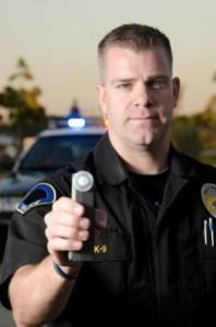 cop field sobriety test