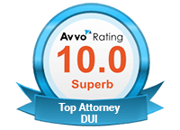 10.0 AVVO Rating for DUI Attorneys